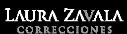 Laura Zavala Correcciones Logo